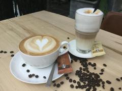 Cappuccino oder Latte Macchiato